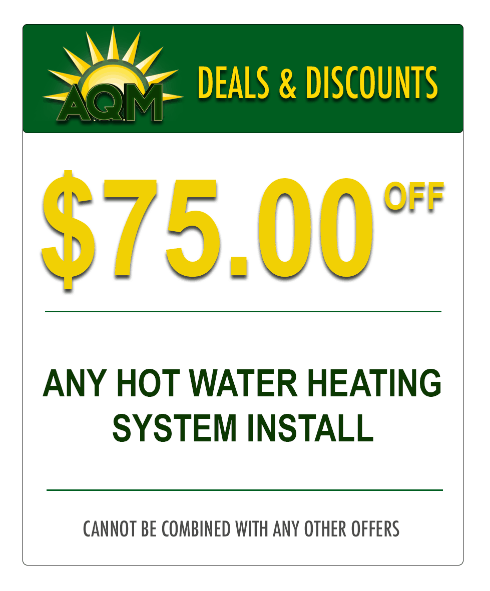 Hot Water Heating System Coupon