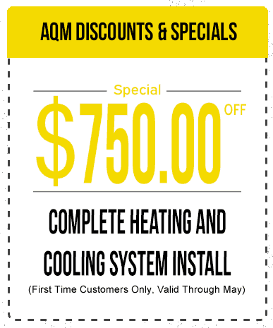 $750 Off Heating & Cooling Install