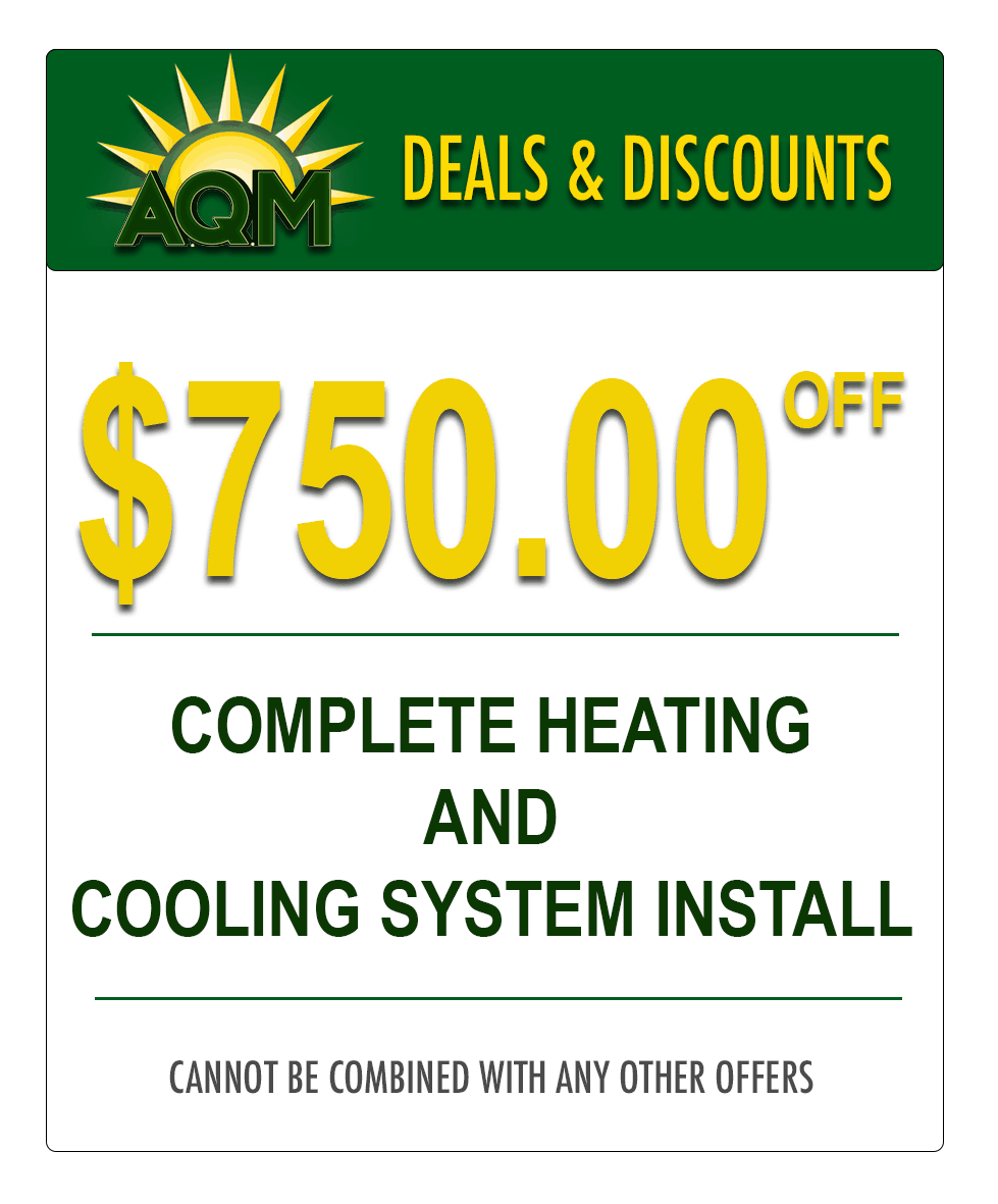 Heating and Air Conditioning System Coupon