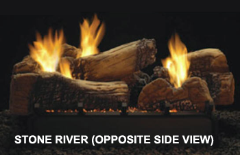 Stone River Log Set