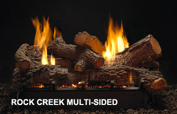 Rock Creek Multi-Sided Log Set