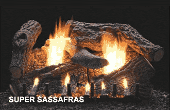 Super Sassafras Log Set