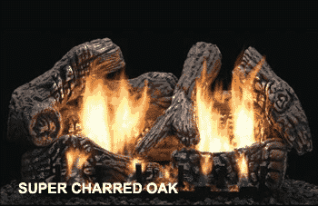 Super Charred Oak Log Set